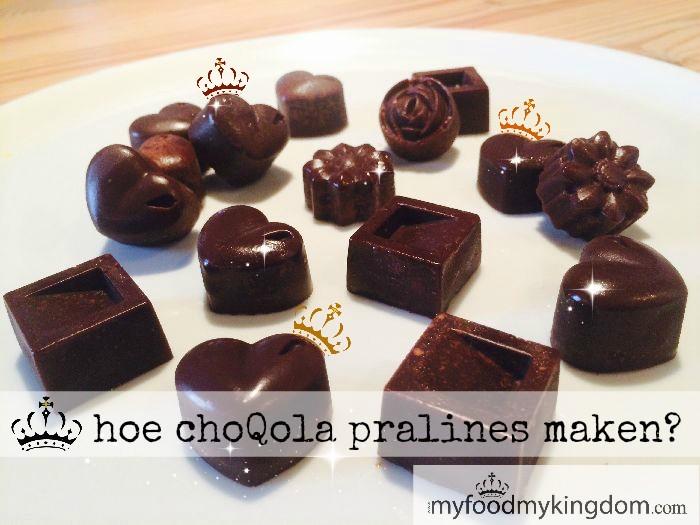 blog hoe choQola pralines maken