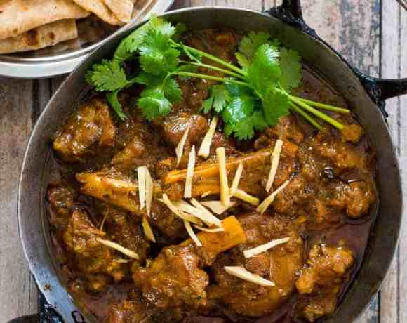 Easiest Indian Mutton Curry (Pressure Cooker Recipe)