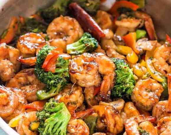 Teriyaki Shrimp Broccoli Stir Fry (Ready in 30 mins)
