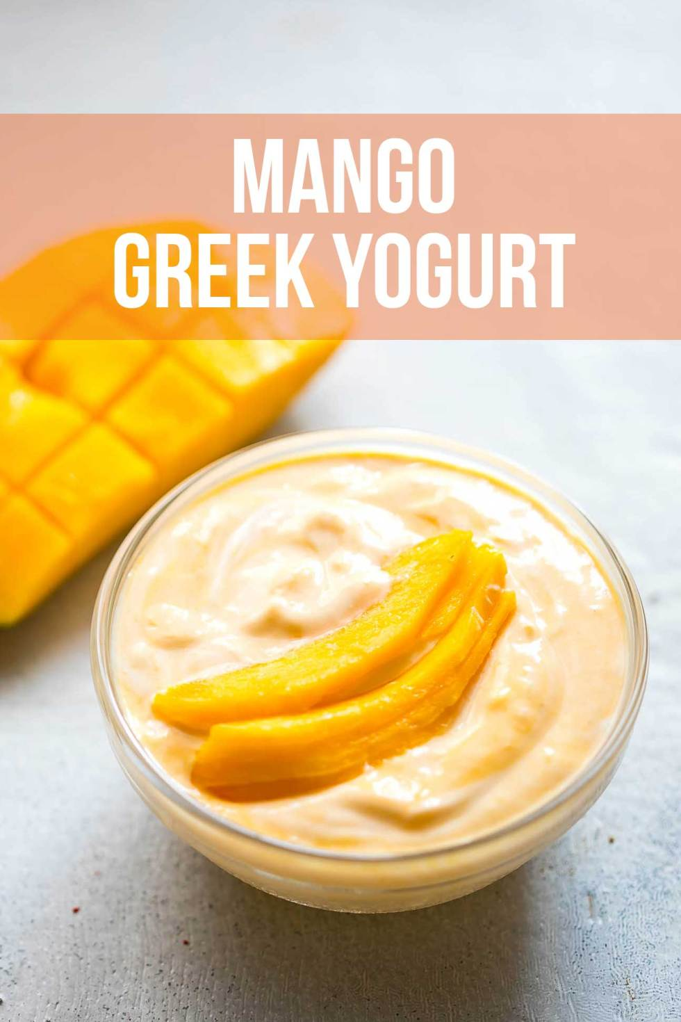 A delicious mango Greek yogurt, flavored with fresh Mango puree and honey that makes for a refreshing and healthy breakfast or evening snack. If you don't have access to fresh mango puree, frozen and thawed works just as well.