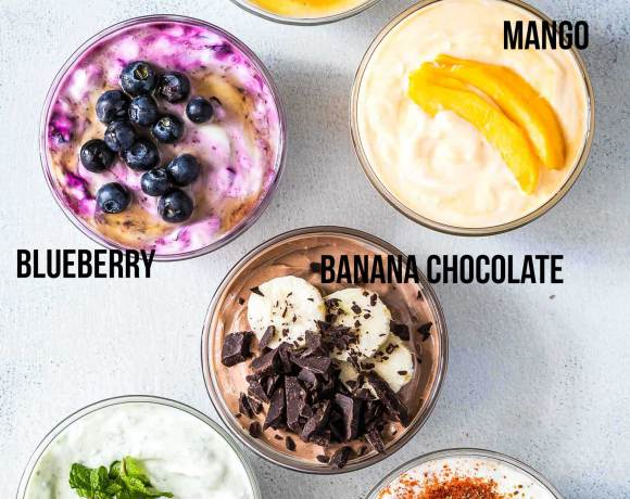 6 Homemade Greek Yogurt Flavor Ideas (Clean Eating, Gluten Free and DIY)