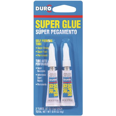DURO SUPER GLUE 2 PACK