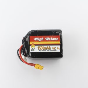 Bosh 1500mah 6s lipo battery