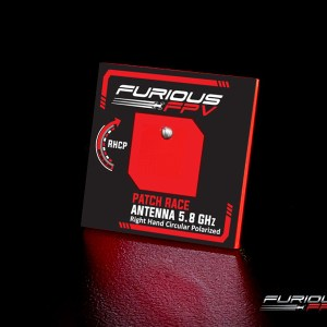 FuriousFPV FeatherPatch Race Antenna 5.8GHz (RHCP)