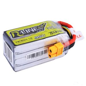 Tattu R-Line 1550mah 4S 95C Lipo Battery with XT60 Plug for FPV Racing drones