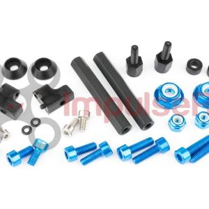 "ALIEN 5"" & 6"" FASTENER SPARES KIT - BLUE"