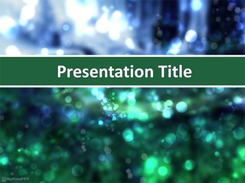 Free Crystal Powerpoint Templates Myfreeppt Com