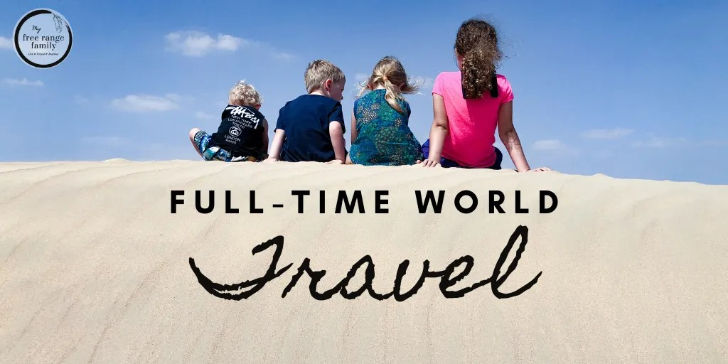 Full-time world travel, follow our journey as we travel as a family around the world.