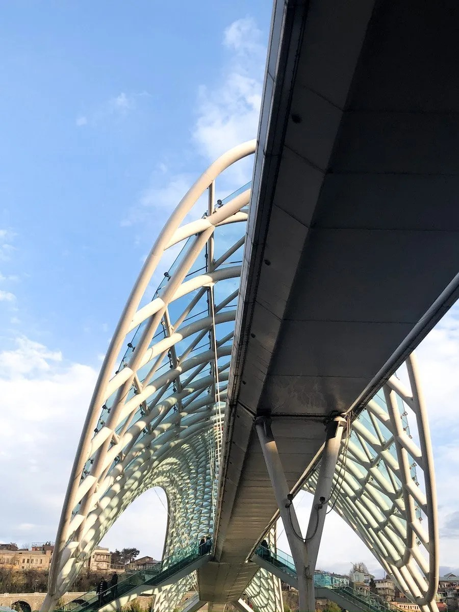 The Peace Bridge in Georgia - 3 days in Tbilisi