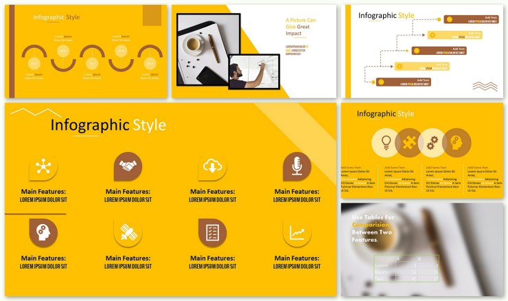 Yellow Themed Google Slide Presentation