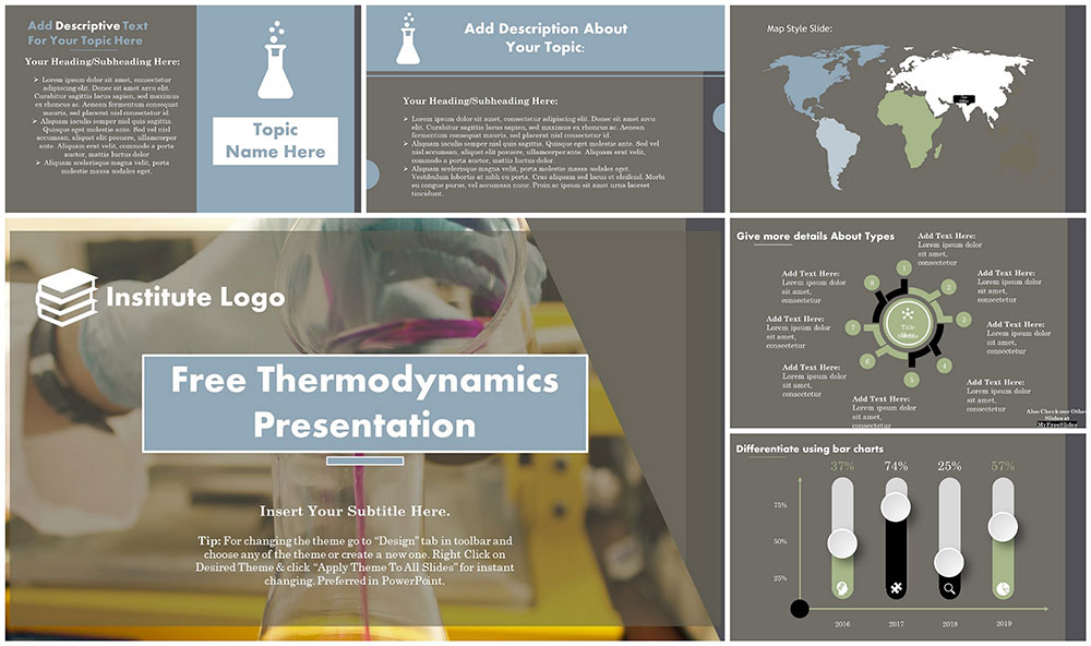 Free Thermodynamics PowerPoint Template - MyFreeSlides