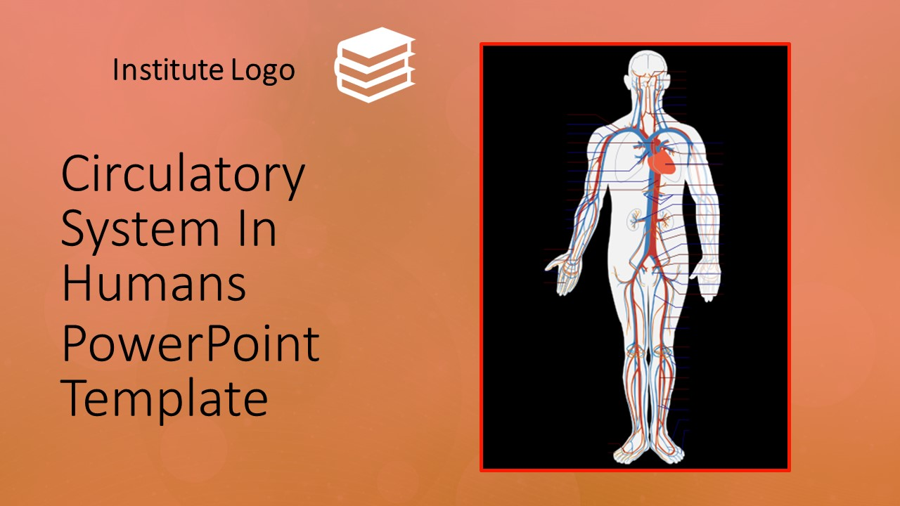 Free Circulatory System PowerPoint Template  MyFreeSlides