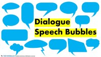free speech bubbles set for Presentations and Characters