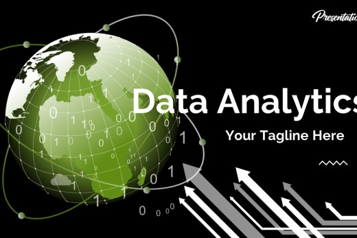 Data Analytics Powerpoint Template Slide