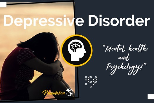 Depressive Disorder PPT Presentation Template and Google Slides Theme For Free