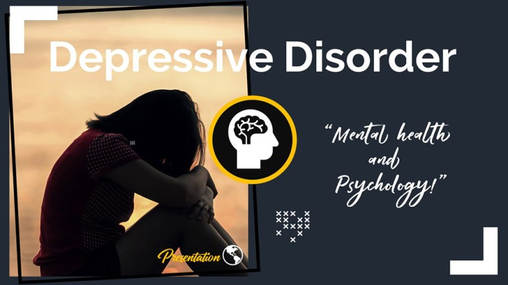 Depressive Disorder PPT Presentation Template and Google Slides Theme For Free