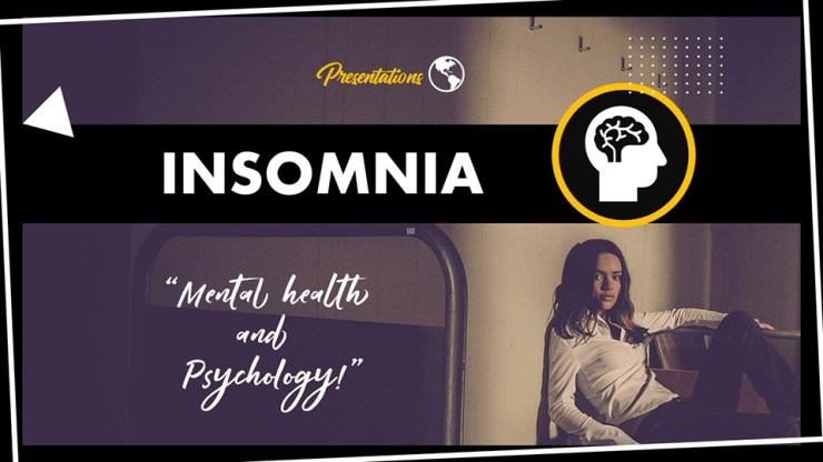 Insomnia PPT Presentation Template and Google Slides Theme For Free