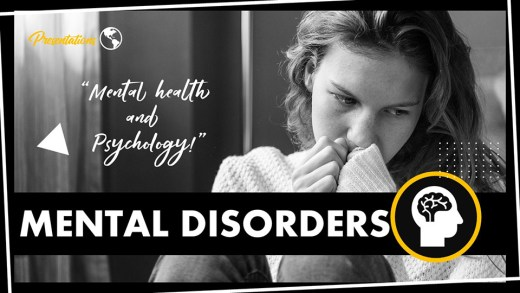 Mental Disorders PPT Presentation Template and Google Slides Theme For Free