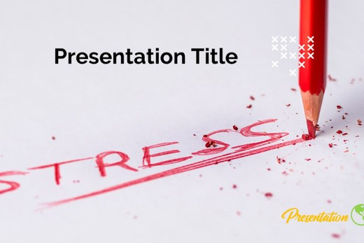 Stress PPT Presentation Template and Google Slides Theme For Free