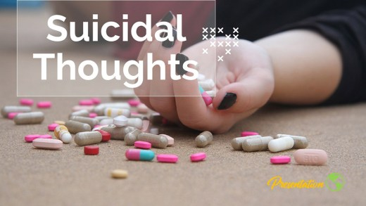 Suicidal Thoughts PPT Presentation Template and Google Slides Theme For Free