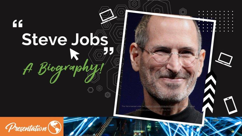 steve job spresentation template