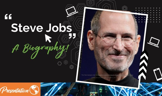 steve job spresentation template