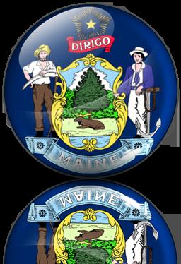 Free Maine Icon