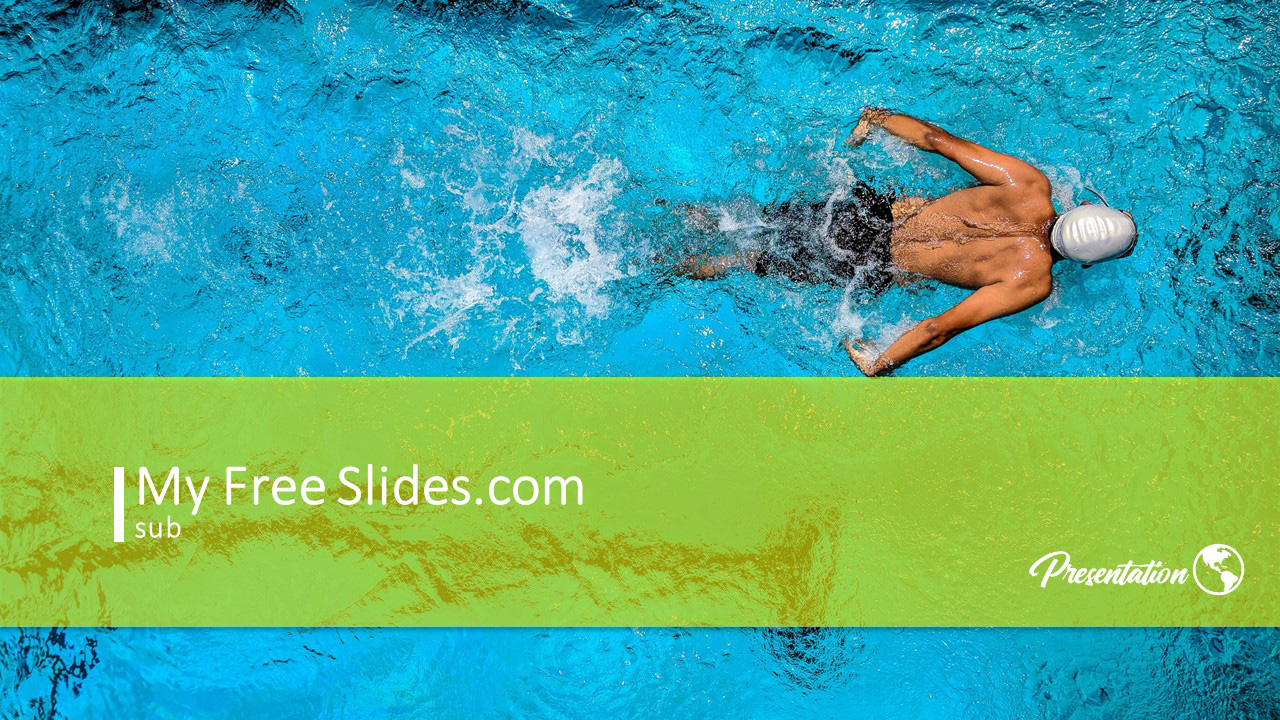 Swimming Powerpoint Template And Google Slides Themes Myfreeslides