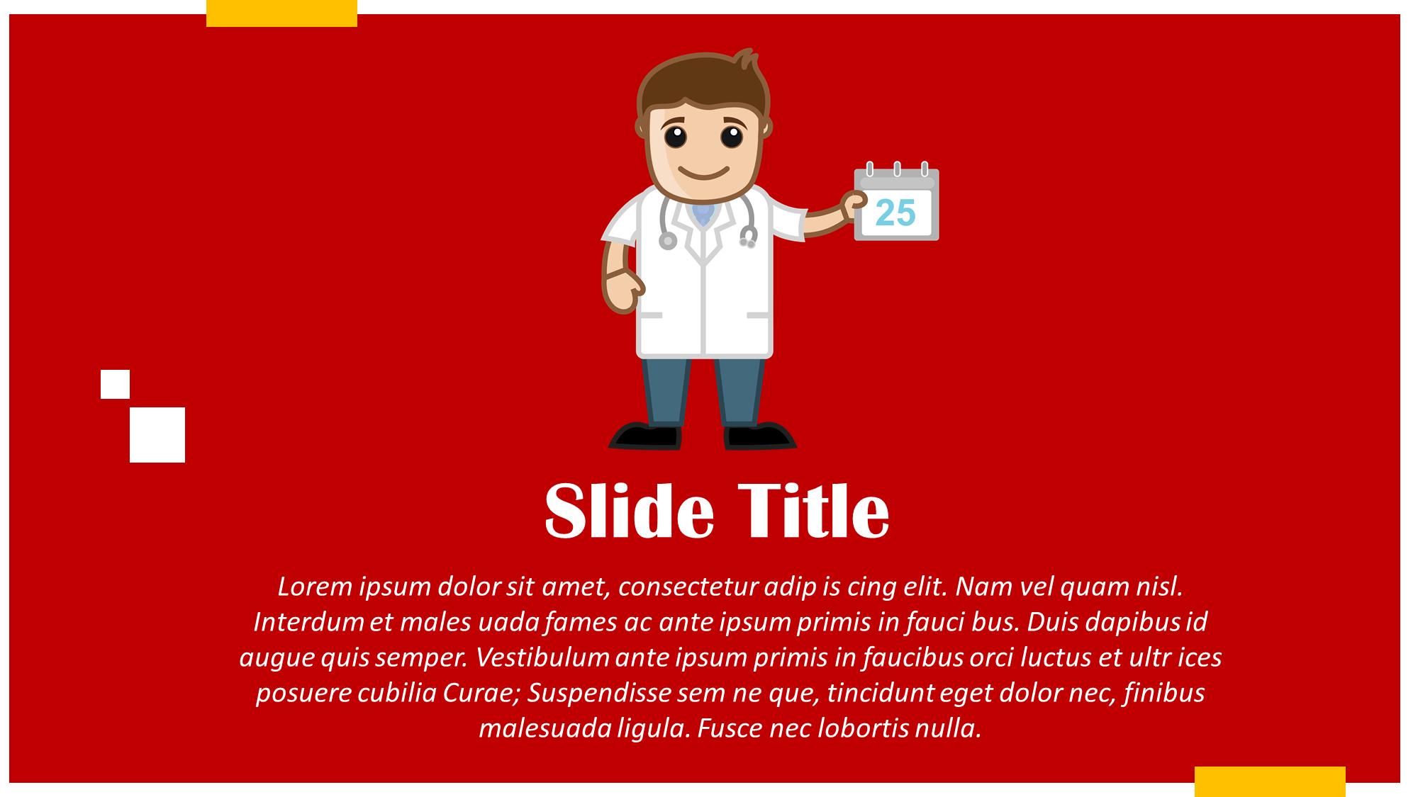 Doctor Appointment Presentation Slide
