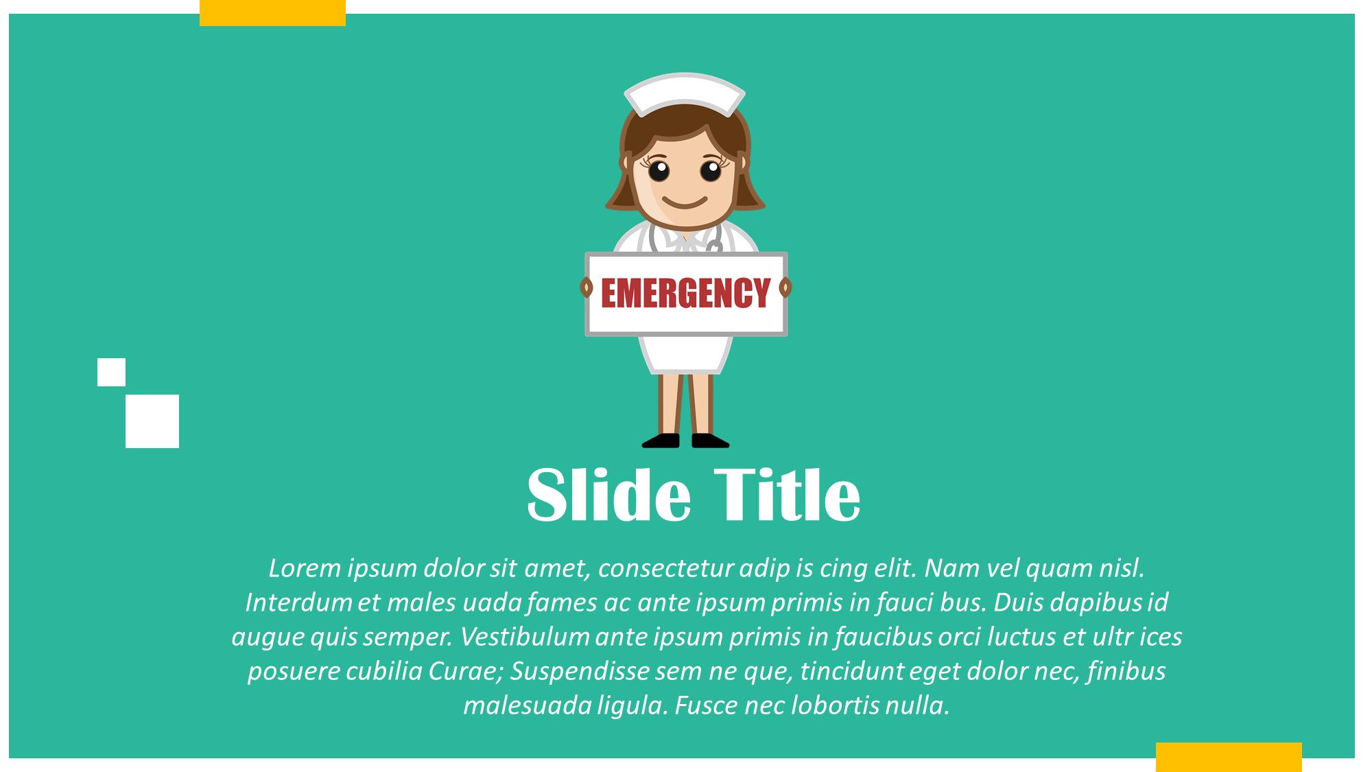 Emergency Nurse Cartoon