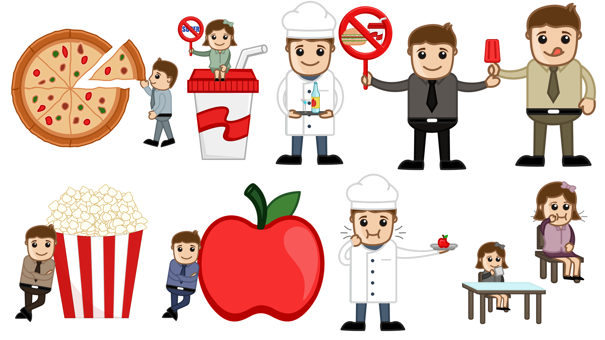 Free Chef And Good Cartoons Pack