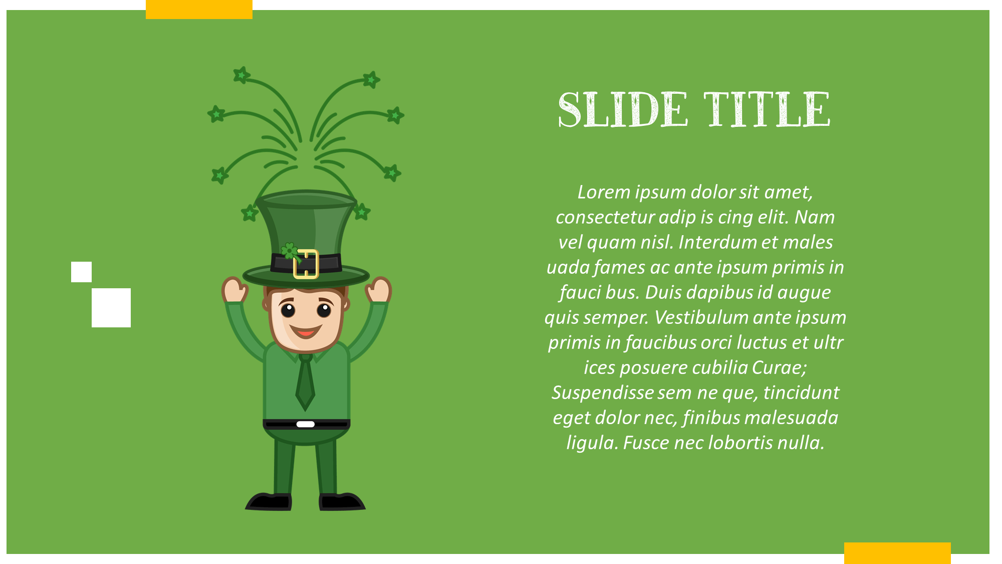 Irish Holiday Presentation Slide