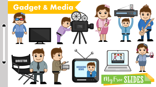 Media Cartoons For Presentation