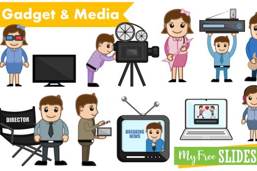 Media Cartoons For Presentation