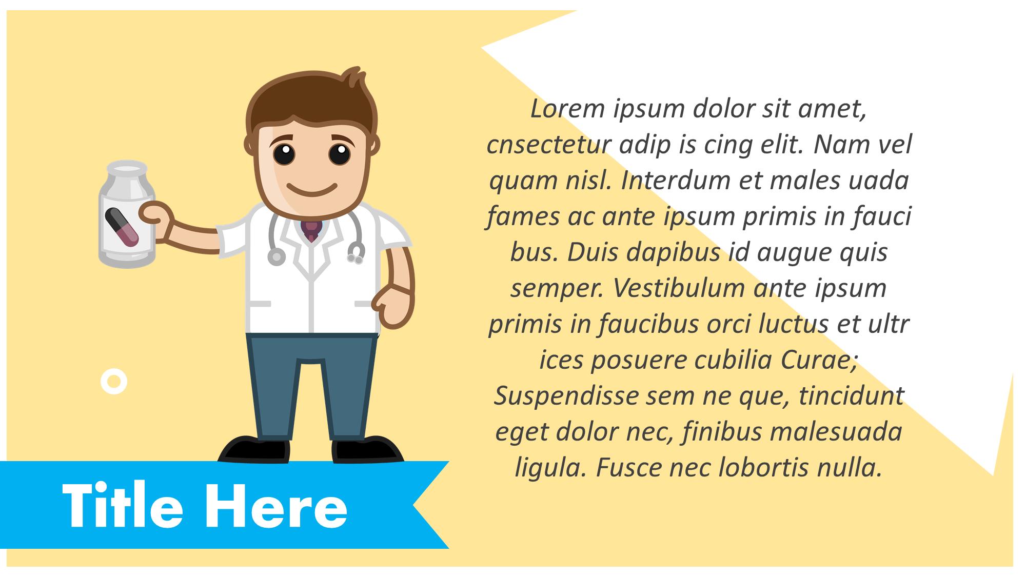 Medicine Doctor Presentation Slide