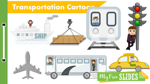 Transportation Free Cartoons