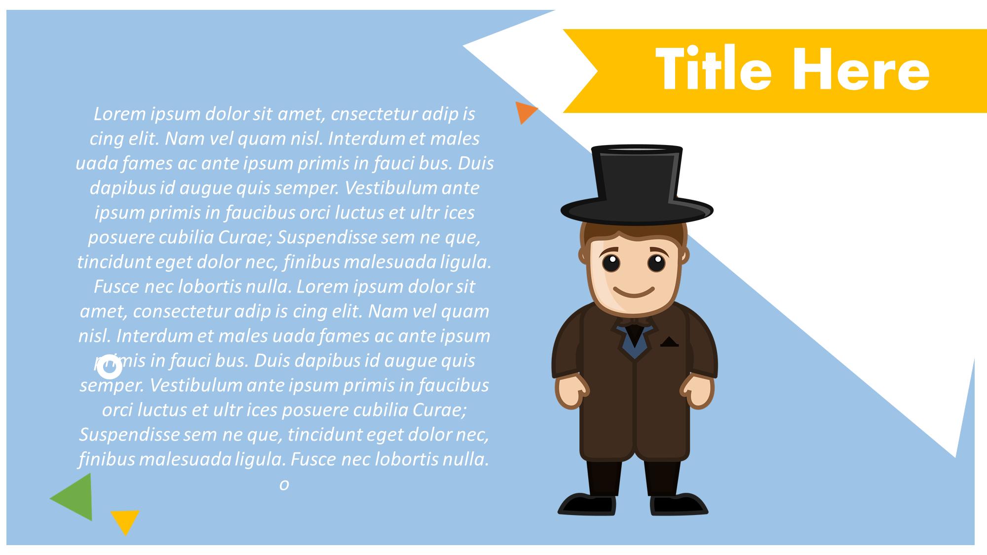 groom presentation slide