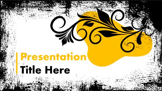 grunge presentation