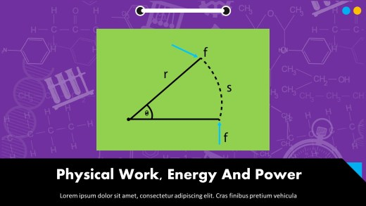 Physical Work, Energy And Power Presentation