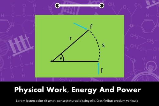Physical Work, Energy And Power Presentation