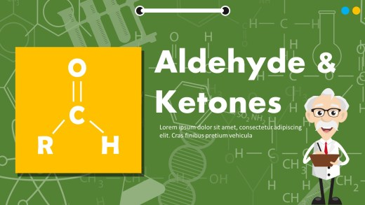 Aldehyde And Ketones Powerpoint Templates