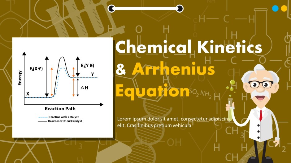Chemical Kinetics And Arrhenius Equation Presentation