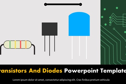 Transistors And Diodes Powerpoint Templates