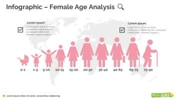 Female Age Analysis Infographic-104
