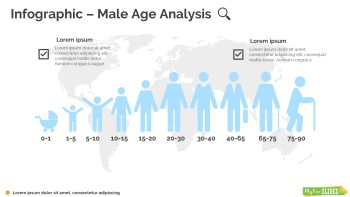 Male Age Analysis Infographic-106