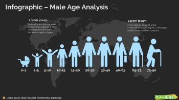 Male Age Analysis Infographic-dark