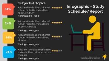 Study Schedule-Report Infographic-dark