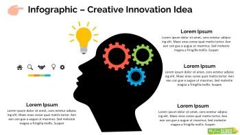 Infographic Slide Creative Innovation Idea