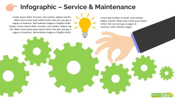Infographic Slide Service & Maintenance
