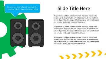 speakers presentation slide